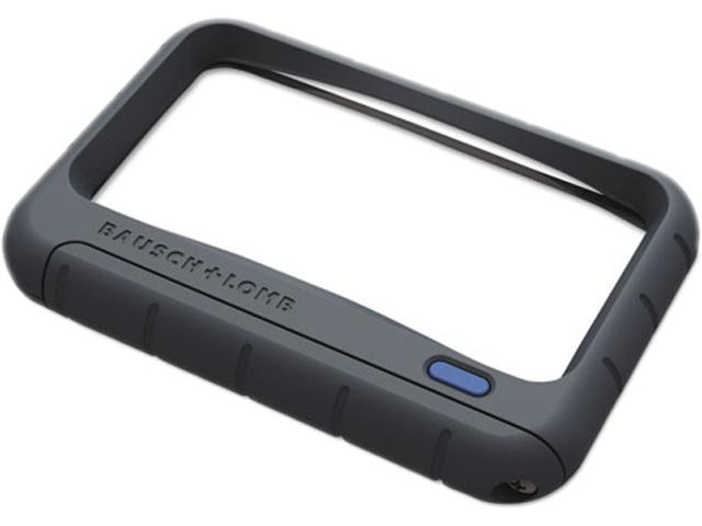 "Bausch & Lomb 628006 Handheld LED Magnifier, Rectangular, 4"" x 2"", 1 Each"