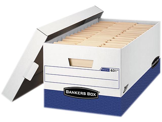 Fellowes 0063101 - Bankers Box Presto Maximum Strength Storage Box, Ltr 24
