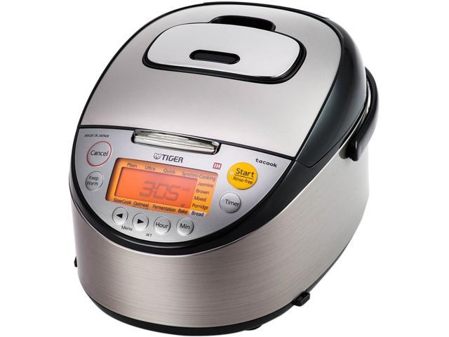 Tiger JKT-S10U Multi-Functional Induction Heating Rice Cooker, 11 Cups Cooked/5.5 Cups Uncooked