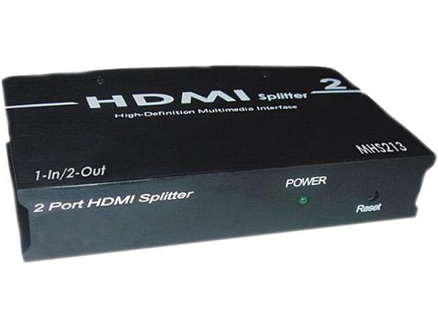 HDMI SPLITTER 1-INPUT 2-OUTPUT