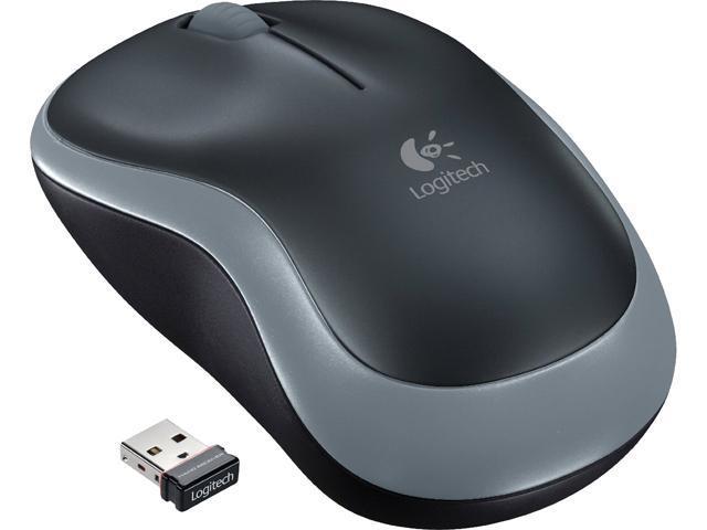 Logitech M185 910-002225 Black 3 Buttons 1 x Wheel RF RF Wireless Optical Mouse