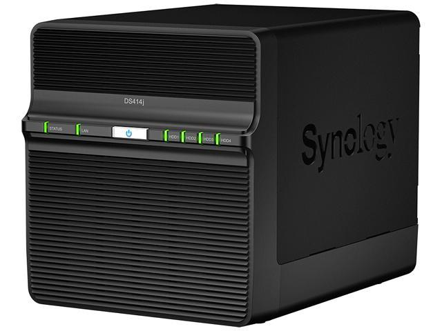 DiskStation DS414J Budget-friendly 4-bay NAS Server with Optimal Performance