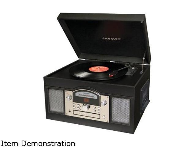 Crosley CR6001A-BK Archiver USB Turntable (Black)