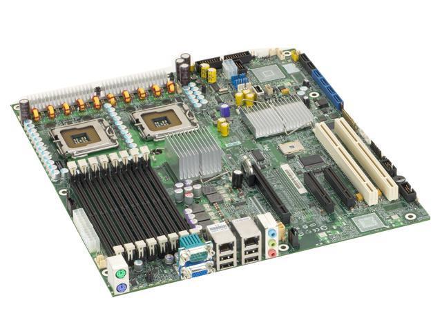 Intel S5000XVNSATA Extended ATX Server Motherboard Dual LGA 771 Intel 5000X