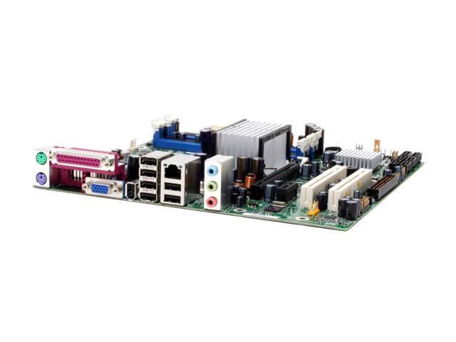 Intel BOXDQ965GFEKR LGA 775 Intel Q965 Express Micro ATX Intel Motherboard