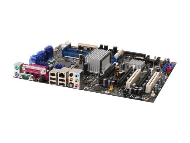 Intel BOXD975XBX2KR LGA 775 Intel 975X ATX Intel Motherboard