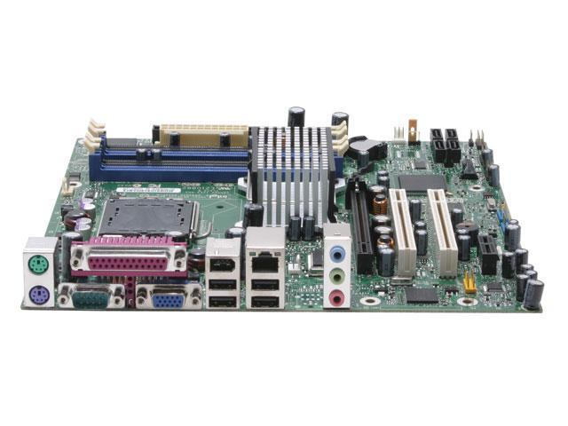 Intel BOXD945GTPLKR LGA 775 Intel 945G Micro ATX Intel Motherboard