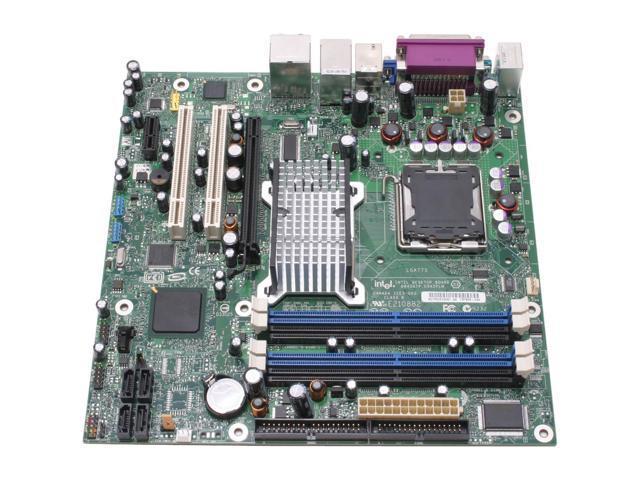 Intel BOXD945GTPLR LGA 775 Intel 945G Micro ATX Intel Motherboard