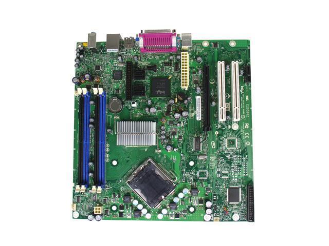 Intel BLKD945GCZLKR LGA 775 Intel 945G Micro BTX Intel Motherboard - OEM