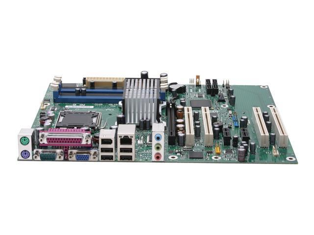 Intel BLKD945GNTLKR LGA 775 Intel 945G ATX Intel Motherboard - OEM