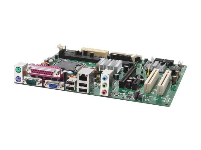 Intel BOXD101GGCL LGA 775 ATI Radeon Xpress 200 Micro ATX Intel Motherboard