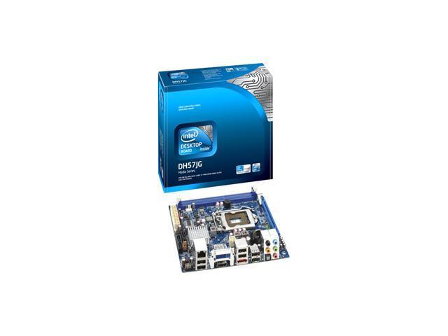 Intel BLKDH57JG LGA 1156 Intel H57 HDMI Mini ITX Intel Motherboard 10-Pack