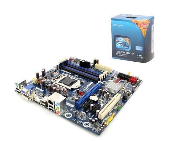 Intel BX80616I5661-KIT1 Intel Core i5-661 3.33GHz LGA1156 Intel H55 Micro ATX Motherboard/CPU Combo