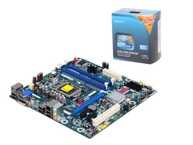 Intel BX80616I5661-KIT5 Intel Core i5-661 3.33GHz Micro ATX Motherboard/CPU Combo