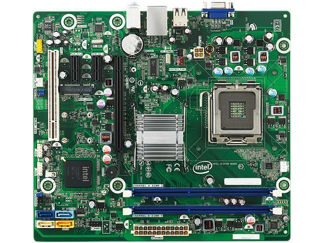 Intel BOXDG41BI LGA 775 Intel G41 Micro ATX Intel Motherboard