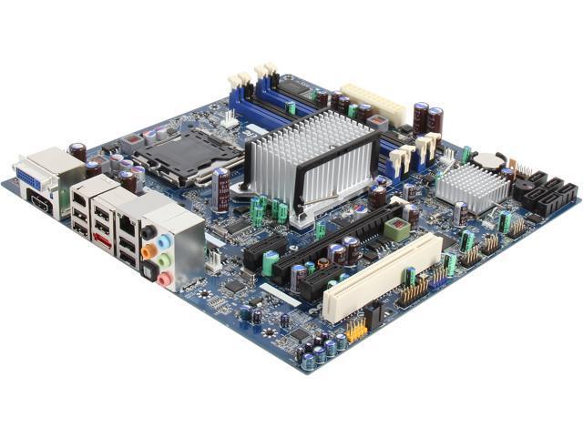 Intel BOXDG45ID LGA 775 Intel G45 HDMI Micro ATX Intel Motherboard