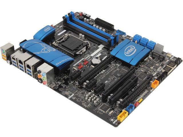 Intel BOXDZ87KLT75K LGA 1150 Intel Z87 SATA 6Gb/s USB 3.0 ATX Intel Motherboard