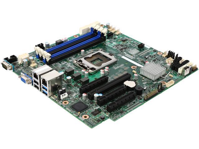 Intel DBS1200V3RPS uATX Server Motherboard LGA 1150 DDR3 1600/1333
