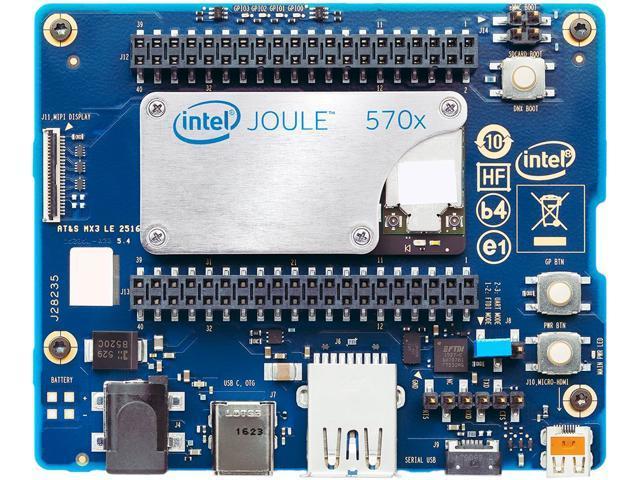 Intel Joule 570x developer kit with expansion board, single