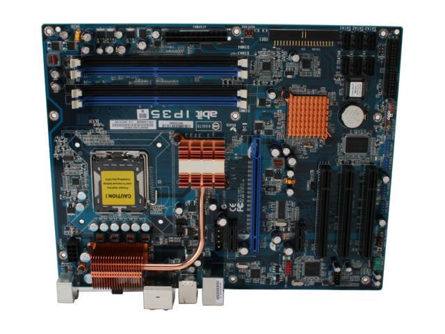 ABIT IP35 LGA 775 Intel P35 ATX Intel Motherboard