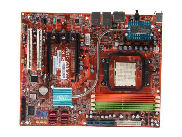 ABIT KN9 SLI AM2 NVIDIA nForce 570 SLI MCP ATX AMD Motherboard