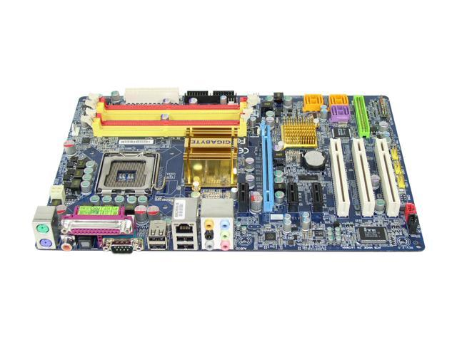 GIGABYTE GA-965P-DS3 LGA 775 Intel P965 Express ATX Intel Motherboard