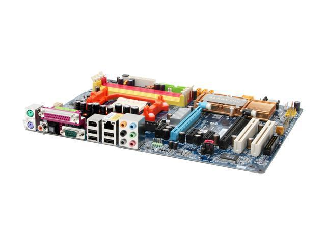 GIGABYTE GA-M57SLI-S4 AM2 NVIDIA nForce 570 SLI MCP ATX AMD Motherboard