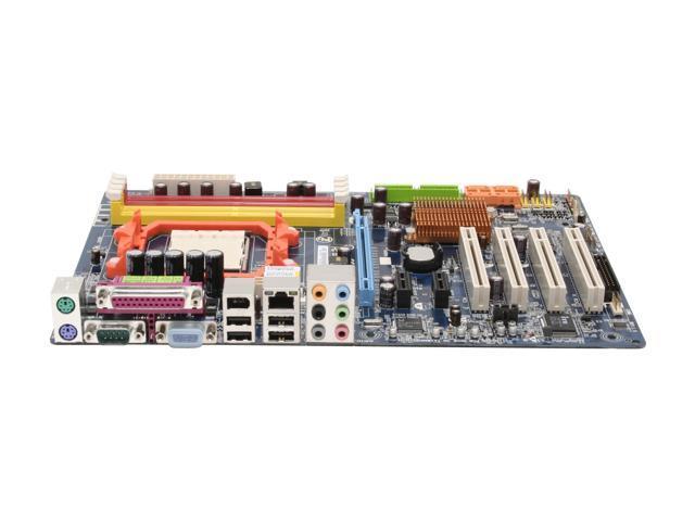 GIGABYTE GA-M61P-S3 AM2 NVIDIA GeForce 6100 / nForce 430 ATX AMD Motherboard