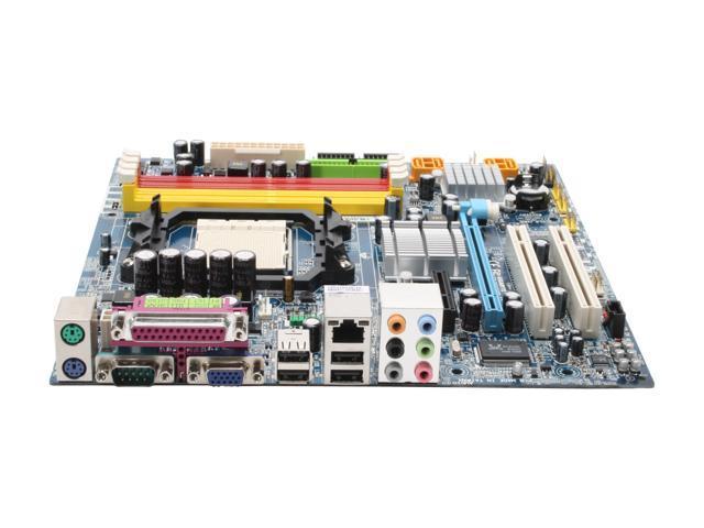 GIGABYTE GA-MA69VM-S2 AM2 AMD 690V Micro ATX AMD Motherboard
