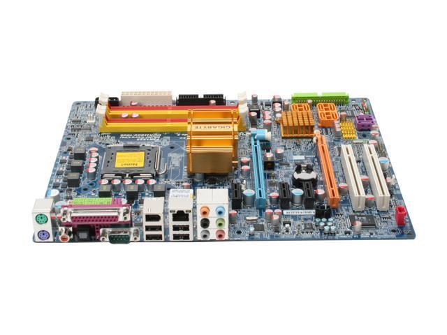 GIGABYTE GA-P35-DS3P LGA 775 Intel P35 ATX Intel Motherboard