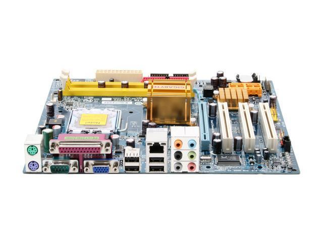 GIGABYTE GA-945GCM-S2 LGA 775 Intel 945GC Micro ATX Intel Motherboard