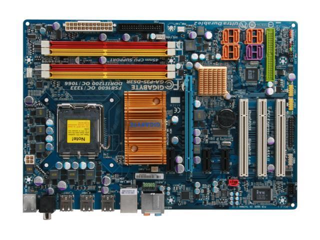 GIGABYTE GA-P35-DS3R LGA 775 Intel P35 ATX Intel Motherboard