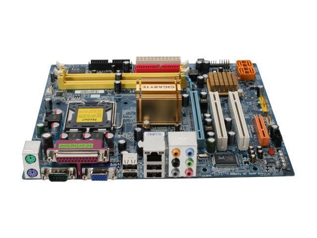 GIGABYTE GA-946GMX-S2 LGA 775 Intel 946GZ Micro ATX Intel Motherboard