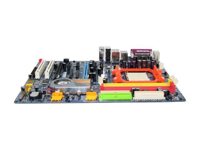 GIGABYTE GA-M55SLI-S4 AM2 NVIDIA nForce4 SLI ATX AMD Motherboard
