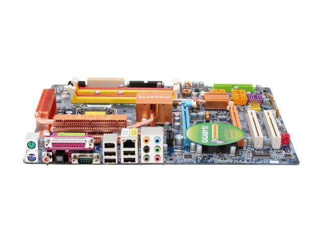 GIGABYTE GA-965P-DQ6 LGA 775 Intel P965 Express ATX Intel Motherboard