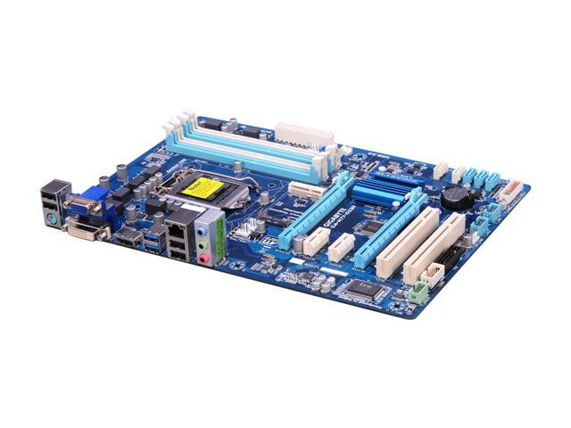 GIGABYTE GA-H77-DS3H LGA 1155 Intel H77 HDMI SATA 6Gb/s USB 3.0 ATX Intel Motherboard