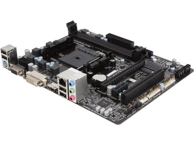 GIGABYTE GA-F2A55M-HD2 Micro ATX AMD Motherboard