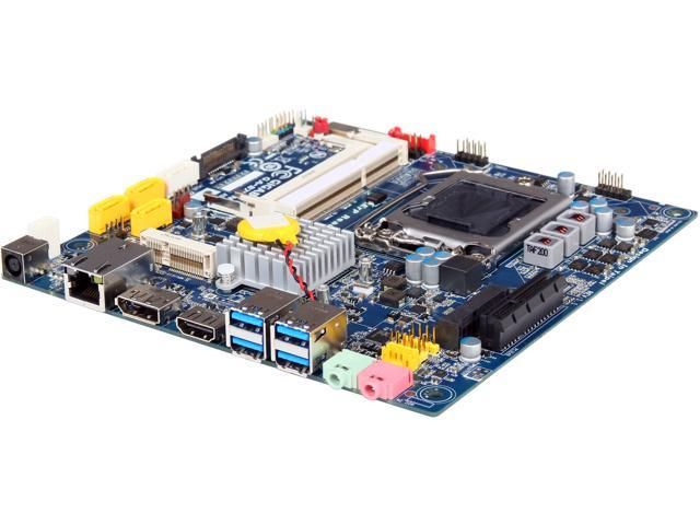 GIGABYTE GA-B75TN LGA 1155 Intel B75 HDMI SATA 6Gb/s USB 3.0 Thin mini-ITX Intel Motherboard