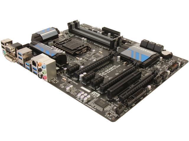 GIGABYTE GA-Z87X-D3H LGA 1150 Intel Z87 HDMI SATA 6Gb/s USB 3.0 ATX Intel Motherboard