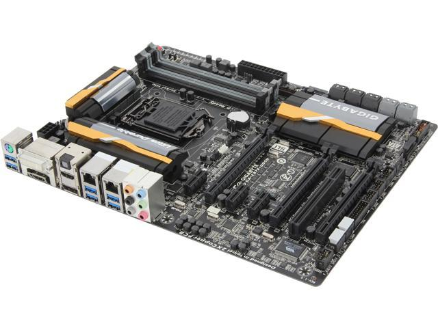 GIGABYTE GA-Z87X-UD5H ATX Intel Motherboard with UEFI BIOS