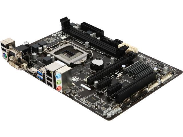 GIGABYTE GA-B85M-HD3 LGA 1150 Intel B85 HDMI SATA 6Gb/s USB 3.0 Micro ATX Intel Motherboard