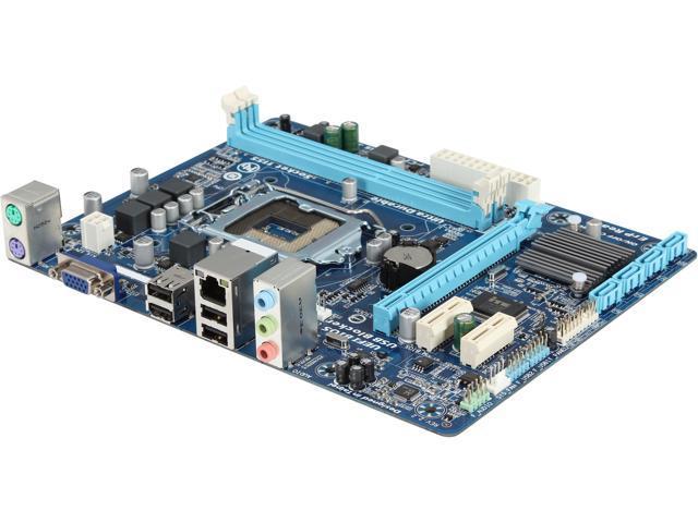 GIGABYTE GA-H61M-S1 LGA 1155 Intel H61 Micro ATX Intel Motherboard