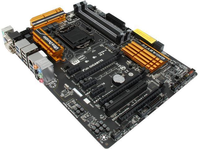 GIGABYTE GA-Z97X-UD3H (rev. 1.2) LGA 1150 Intel Z97 HDMI SATA 6Gb/s USB 3.0 ATX Intel Motherboard