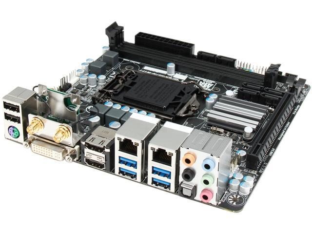 GIGABYTE GA-H97N-WIFI LGA 1150 Intel H97 HDMI SATA 6Gb/s USB 3.0 Mini ITX Intel Motherboard (Mail In Rebate $20.0 Expires 12/31/14) (Mail In ...
