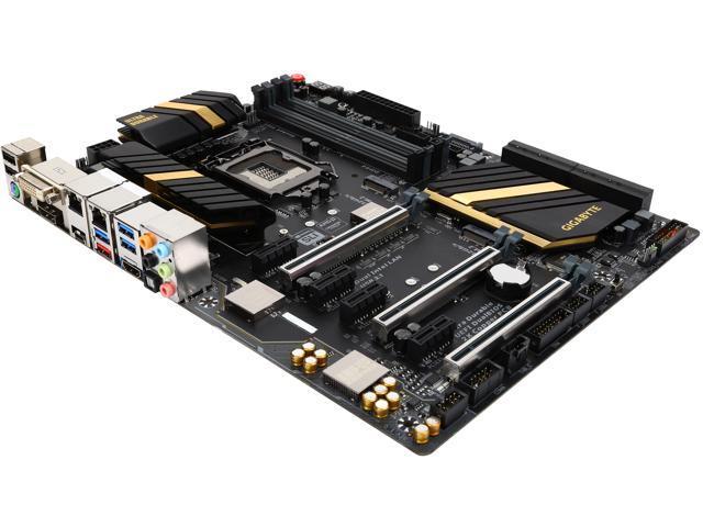 GIGABYTE GA-Z170X-UD5 (rev. 1.0) LGA 1151 Intel Z170 HDMI SATA 6Gb/s USB 3.1 USB 3.0 ATX Intel Motherboard