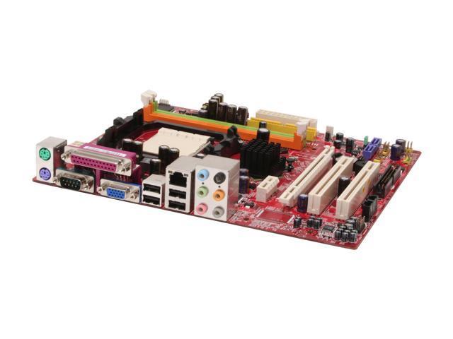 MSI K9N6PGM-F AM2 NVIDIA GeForce 6100 Micro ATX AMD Motherboard