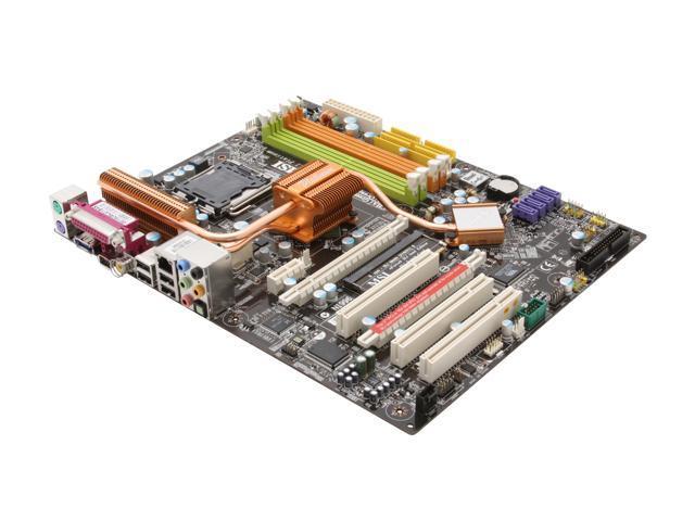 MSI P6N SLI Platinum LGA 775 NVIDIA nForce 650i SLI ATX Intel Motherboard