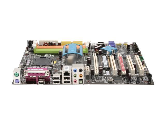MSI P6N SLI-FI LGA 775 NVIDIA nForce 650i SLI ATX Intel Motherboard
