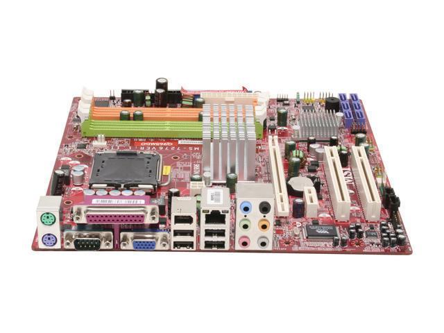 MSI Q965MDO-FI LGA 775 Intel Q965 Express Micro ATX Intel Motherboard