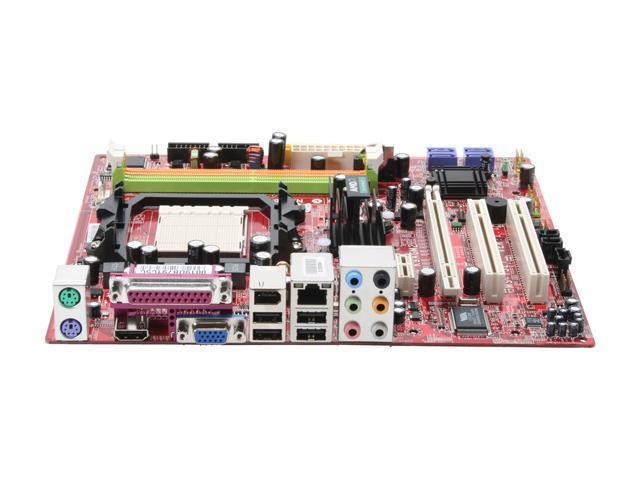 MSI K9AGM2-FIH AM2 AMD 690G HDMI Micro ATX AMD Motherboard